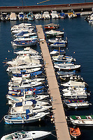 Yacht marina, San Sebastian, La Gomera, Canary Islands, Spain
