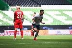Torjubel nach dem 2-0: Torschuetze Milot Rashica (Werder Bremen).<br /><br />Sport: Fussball: 1. Bundesliga:: nphgm001:  Saison 19/20: 34. Spieltag: SV Werder Bremen - 1. FC Koeln, 27.06.2020<br /><br />Foto: Marvin Ibo Güngör/GES/Pool/via gumzmedia/nordphoto