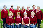 In the Bunker<br /> ------------------<br /> Ballybunion ladies team who played Killarney in the Joe Quinlan foursomes final last Thursday at Tralee golf club, seated L-R Josette O'Donnell, Lady Cpt, Ballybunion GC, Mai Maher, President, Ballybunion GC, Eleanor O'Sullivan and Toni Quilter. Back L-R Norma McKeon, team manager, Pudge O'Reilly, Marian Flannery, Sighle Hennigan, June Hayes, Mary Whelan and Margaret McAuliffe.