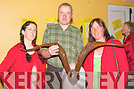 Helen and Noel Heaslip, Abbeydorney, with Myra Spillane at the Earth Day workshop in the Community Centre Lyrecrompane on Saturday.....   Copyright Kerry's Eye 2008