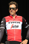 Koen De Kort (NED) Trek-Segafredo at sign on before the 2019 E3 Harelbeke Binck Bank Classic 2019 running 203.9km from Harelbeke to Harelbeke, Belgium. 29th March 2019.<br /> Picture: Eoin Clarke | Cyclefile<br /> <br /> All photos usage must carry mandatory copyright credit (© Cyclefile | Eoin Clarke)