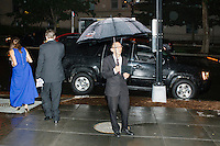 A driver waits outside toward the end of the night at the MSNBC After Party at the United States Institute of Peace in Washington, DC. The party followed the annual White House Correspondents Association Dinner on Saturday, April 30, 2016. The party continued until about 3 AM on Sunday, May 1, 2016.