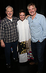 John Dossett, Manoel Felciano and Douglas Sills during the Actors' Equity Gypsy Robe honoring Joanna Glushak for 'War Paint' at the Nederlander Theatre on April 6, 2017 in New York City