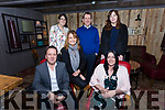 Slattery Travel staff social at No.4 the Square on Saturday Pictured front l-r  Steve O'Grady, Ingrid Clermont, Noreen Nobel, Back l-r Darina Scully, David Slattery, Michelle Barron