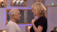 Rachel Johnson, Wayne Sleep<br /> Celebrity Big Brother 2018 - Day 8<br /> *Editorial Use Only*<br /> CAP/KFS<br /> Image supplied by Capital Pictures