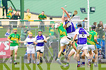 Eamon Corridan Saint Brendans in action against Pat Corridan Lixnaw in the Senior County Hurling Final at Austin Stack Park Tralee on Sunday.