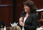 Nevada Assemblywoman Teresa Benitez-Thompson, D-Reno, speaks on the Assembly floor Friday, May 20, 2011, at the Legislature in Carson City, Nev. .Photo by Cathleen Allison