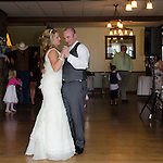 Julie and Adam's wedding reception at Crags Lodge in the Rocky Mountains at Estes Park, Colorado