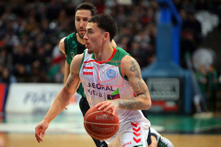 League ACB-Endesa 2015-2016. Game: 16.<br /> FIATC Joventut vs Laboral Kutxa Baskonia: 68-89.<br /> Mike James.