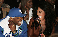 50 CENT, KIMORA SIMMONS   2007<br /> Photo By John Barrett/PHOTOlink.net