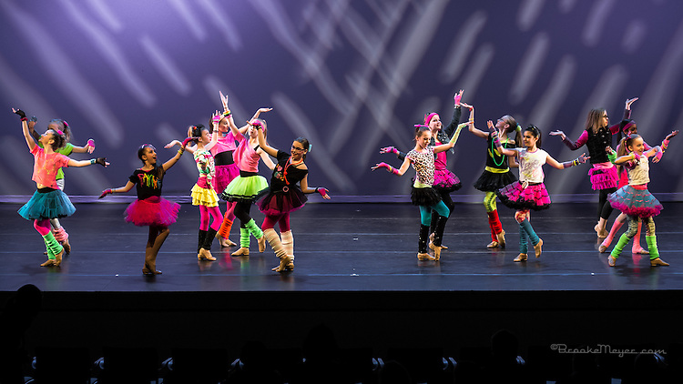 """Dress Rehearsal for """"United We Dance"""" the combined production of 3D Project Jazz and Cary Ballet companies Spring Concert. Cary Arts Center, 13 March 2014"""