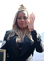 JAN 11 Mary J. Blige Is Honored With A Star On The Hollywood Walk of Fame