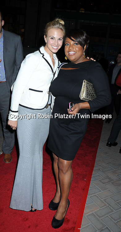 Elisabeth Hasselbeck and Sherri Shepherd attending ABC Casino Night on October 28, 2010 at Guastavinos in New York City. .