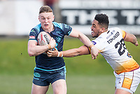 Picture by Allan McKenzie/SWpix.com - 25/03/2018 - Rugby League - Betfred Championship - Batley Bulldogs v Featherstone Rovers - Heritage Road, Batley, England - Harry Newman.