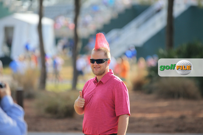 A Fan  during the Final Round of The Players, TPC Sawgrass, Ponte Vedra Beach, Jacksonville.   Florida, USA. 15/05/2016.<br /> Picture: Golffile   Mark Davison<br /> <br /> <br /> All photo usage must carry mandatory copyright credit (&copy; Golffile   Mark Davison)