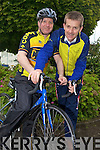 ON YOUR BIKE: Roger Harty and Ristea?rd Pierse who are cycling to Galway to raise money for the Special Olympics on 5th June.