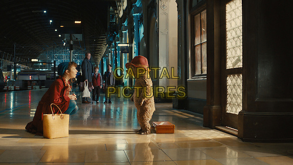 Sally Hawkins, Paddington (voice of Ben Whishaw)<br /> in Paddington (2014) <br /> *Filmstill - Editorial Use Only*<br /> CAP/NFS<br /> Image supplied by Capital Pictures