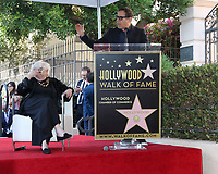LOS ANGELES - OCT 28:  Lina Wertmuller, David O Russell at the Lina Wertmuller Star Ceremony on the Hollywood Walk of Fame on October 28, 2019 in Los Angeles, CA