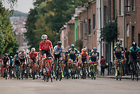 Eugenio Alafaci (ITA/Trek-Segafredo) up the steep Ridderstraat <br /> <br /> 52nd GP Jef Scherens - Rondom Leuven 2018 (1.HC)<br /> 1 Day Race: Leuven to Leuven (186km/BEL)