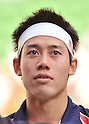 Kei Nishikori (JPN), October 3, 2011 - Tennis : Men's Doubles at Rakuten Japan Open Tennis Championships in Tokyo, Japan. (Photo by Atsushi Tomura/AFLO SPORT) [1035]