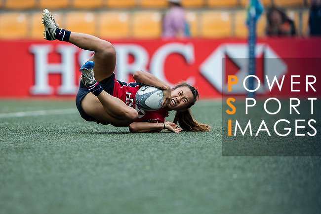 Chong Ka Yan of Lions in action during the Women's National Super Series 2017 on 13 May 2017, in Hong Kong Football Club, Hong Kong, China. Photo by Cris Wong / Power Sport Images