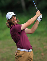 Tommy Fleetwood (ENG) on the 5th tee during Round 4 of the UBS Hong Kong Open, at Hong Kong golf club, Fanling, Hong Kong. 26/11/2017<br /> Picture: Golffile | Thos Caffrey<br /> <br /> <br /> All photo usage must carry mandatory copyright credit     (&copy; Golffile | Thos Caffrey)