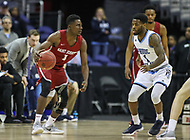 Washington, DC - March 10, 2018: Saint Joseph's Hawks guard Shavar Newkirk (1) in action during the Atlantic 10 semi final game between Saint Joseph's and Rhode Island at  Capital One Arena in Washington, DC.   (Photo by Elliott Brown/Media Images International)