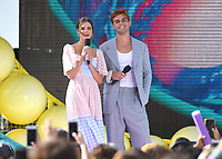 "HERMOSA BEACH - AUGUST 11: xxx onstage at FOX's ""Teen Choice 2019"" at the Hermosa Beach Pier Plaza on August 11, 2019 in Hermosa Beach, California. (Photo by Frank Micelotta/Fox/PictureGroup)"