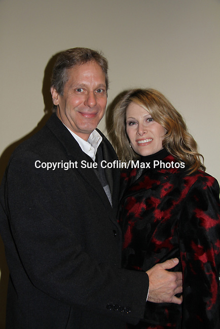 As The World Turns Scott Bryce and wife Jodi Stevens attend the opening night of Dracula on January 5, 2011 at the Little Shubert Theatre, New York City, New York and after party at Sardis. (Photo by Sue Coflin/Max Photos)