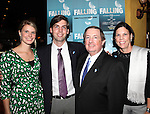 Producer Terry Schnuck with wife & Family attending the Off-Broadway Opening Night Performance After Party for 'Falling' at Knickerbocker Bar & Grill on October 15, 2012 in New York City.