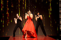 www.acepixs.com<br /> February 9, 2017  New York City<br /> <br /> Rachel Platten performs on the runway at the American Heart Association's Go Red For Women Red Dress Collection 2017 presented by Macy's at Fashion Week at Hammerstein Ballroom on February 9, 2017 in New York City.<br /> <br /> Credit: Kristin Callahan/ACE Pictures<br /> <br /> <br /> Tel: 646 769 0430<br /> Email: info@acepixs.com