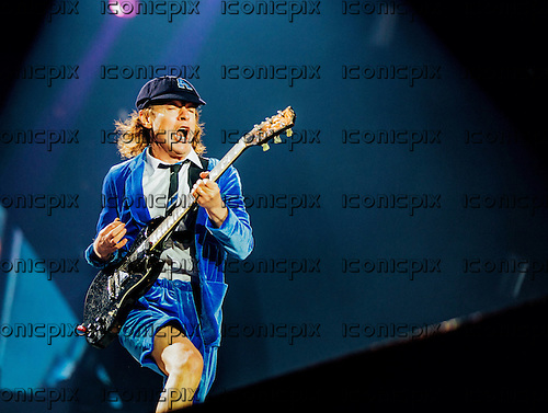 AC/DC - guitarist Angus Young - performing live at the Stade Velodrome in Marseilles France - 13 May 2016.  Photo credit: Hennequin/Dalle/IconicPix ** UK ONLY **