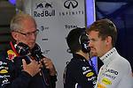 Helmut Marko (AUT), Red Bull Racing, Red Bull Advisor - Sebastian Vettel (GER), Red Bull Racing<br />  Foto &copy; nph / Mathis