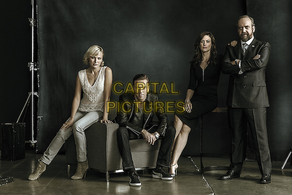 Billions  (2016-)<br /> (Season 1)<br /> Malin Akerman as Lara Axelrod, Damian Lewis as Bobby &quot;Axe&quot; Axelrod, Maggie Siff as Wendy Rhoades and Paul Giamatti as Chuck Rhoades<br /> *Filmstill - Editorial Use Only*<br /> CAP/FB<br /> Image supplied by Capital Pictures