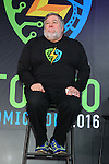 """Apple co-founder Steve Wozniak attends a press conference to unveil the """"Tokyo Comic Con 2016"""" in Tokyo, Japan, on December 4, 2015. The inaugural Tokyo Comic Con will take place at the Mukahari Messe Convention Center from December 3-4, 2016. (Photo by Pasya/AFLO)"""