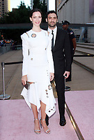 NEW YORK, NY September 28, 2017 Rebecca Hall, Morgan Spector attend New York City Ballet's 2017 Fall Fashion Gala at David H. Koch Theater at Lincoln Center in New York September 28,  2017.Credit:RW/MediaPunch