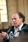 Javier Marias in the Divinity School at the Bodleian Library during the Sunday Times Oxford Literary Festival, UK, 16 - 24 March 2013. <br />