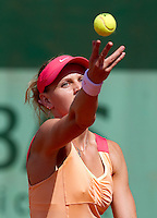 LUCIE SAFAROVA (CZE)..Tennis - Grand Slam - French Open- Roland Garros - Paris - Sat May 26th 2012..© AMN Images, 30, Cleveland Street, London, W1T 4JD.Tel - +44 20 7907 6387.mfrey@advantagemedianet.com.www.amnimages.photoshelter.com.www.advantagemedianet.com.www.tennishead.net