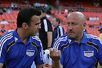 05 May 2010: Kansas City assistant coaches Kerry Zavagnin (left) and Zoran Savic (SRB) (right). DC United defeated the Kansas City Wizards 2-1 at RFK Stadium in Washington, DC in a regular season Major League Soccer game.