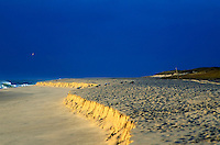 Beach erosion, Nauset beach, Orleans, Cape Cod National seashore, MA<br />