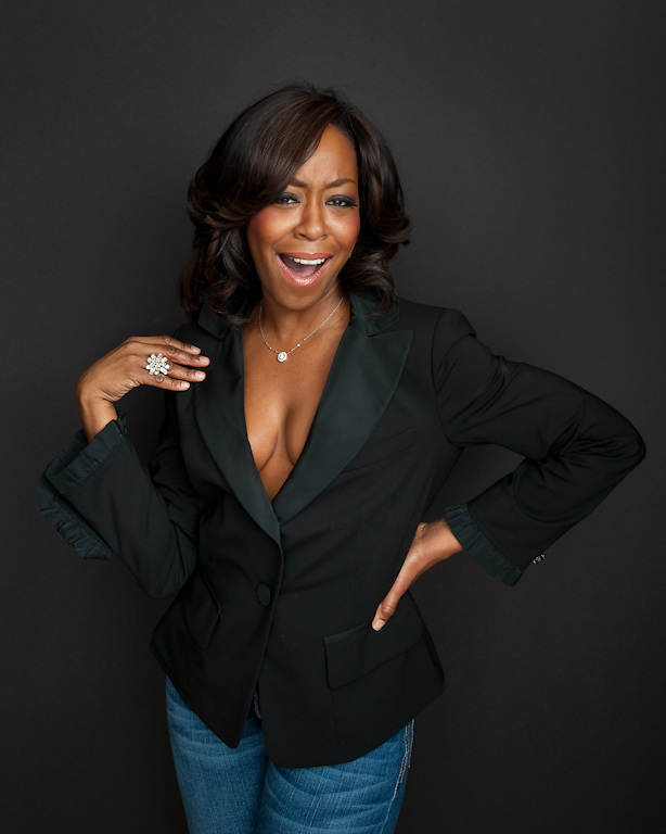Tichina Arnold photographed for The Creative Coalition at Haven House in Beverly Hills, California on February 19, 2009