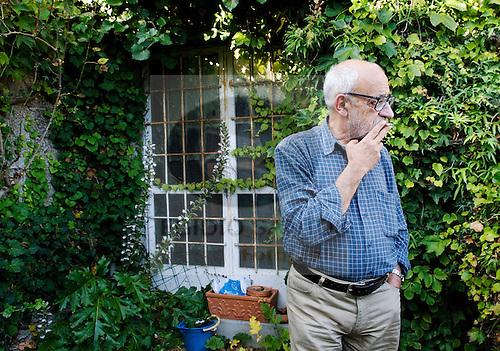 Angelo de Sousa, artista plástico..Porto, 9 de Julho de 2008.