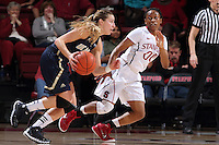 STANFORD, CA - December 22, 2014: Stanford Cardinal vs the UC Davis Aggies at Maples Pavilion.  Stanford defeated the Aggies 71-59.