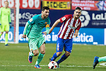 FC Barcelona's forward Leo Messi in action during the match of Copa del Rey between Atletico de  Madrid and Futbol Club Barcelona at Vicente Calderon Stadium in Madrid, Spain. February 1st 2017. (ALTERPHOTOS/Rodrigo Jimenez)