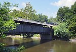 seen at Perrine's Covered Bridge, near Rifton, NY, on Friday, July 29, 2016. Photo by Jim Peppler. Copyright  Jim Peppler 2016.