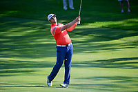 Jon Rahm (ESP) on the 1st during the first round of the WGC Bridgestone Invitational, Firestone country club, Akron, Ohio, USA. 03/08/2017.<br /> Picture Ken Murray / Golffile.ie<br /> <br /> All photo usage must carry mandatory copyright credit (&copy; Golffile | Ken Murray)