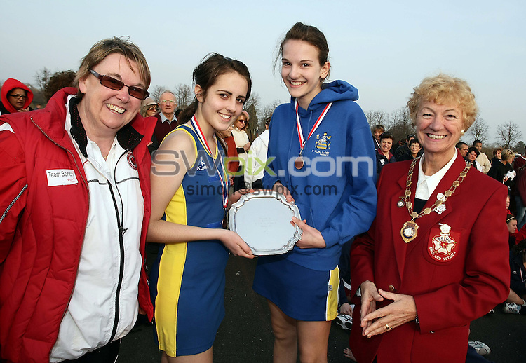 PICTURE BY VAUGHN RIDLEY/SWPIX.COM - Netball - England Netball National Schools Finals - Oundle School, Northamptonshire, England - 21/03/09...Copyright - Simon Wilkinson - 07811267706...Award Winners.