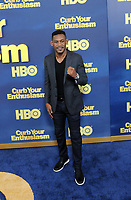 www.acepixs.com<br /> <br /> September 27 2017, New York City<br /> <br /> Professional boxer Daniel 'Danny' Jacobs arriving at the premiere of Season 9 of 'Curb Your Enthusiasm' at the SVA Theater on September 27, 2017 in New York City. <br /> <br /> By Line: William Jewell/ACE Pictures<br /> <br /> <br /> ACE Pictures Inc<br /> Tel: 6467670430<br /> Email: info@acepixs.com<br /> www.acepixs.com