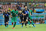 Takumi Minamino (JPN), <br /> AUGUST 4, 2016 - Football / Soccer : <br /> Men's First Round Group B <br /> between Nigeria 5-4 Japan <br /> at Amazonia Arena <br /> during the Rio 2016 Olympic Games in Manaus, Brazil. <br /> (Photo by YUTAKA/AFLO SPORT)
