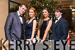 David O'Dowd, Lauren Costello, Sinead Hilliard, Jack Nix enjoying the Castlegregory Secondary School Debs at the Brandon Hotel on Saturday